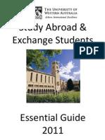 Australie University of Western Australia Guide