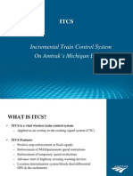 Incremental Train Control System 2007