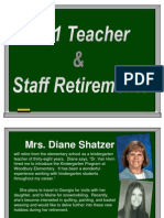 Retiring Teachers PP 2011
