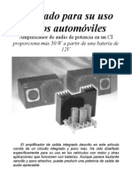 Amplificador 55W 12V TDA1562