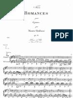 Trois Romances Op 13- Giuliani