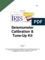Calibration User Guide