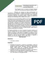 IV Convocatoria Licenciatura Maestria Becas CEEY 2011
