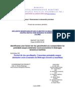 Proiect_Factori de Risc Geoclimatici in Dobrogea