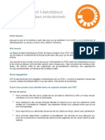 PDT Enoncé de principes professionnels - Francais