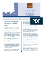 Fiduciary Liability Information for Employers