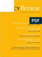 Policy Review - June & July 2011, No. 167