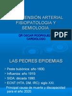 HIPERTENSIÓN ARTERIAL FISIOPATOLOGIA Y SEMIOLOGIA