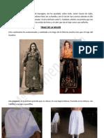 El traje de la mujer