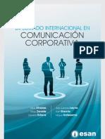 Tríptico Diplomado Internacional en Comunicación Corporativa