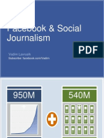 Journalists and Facebook