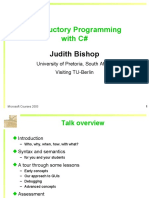 Intro Programming Web