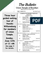 UT Bulletin June 2011