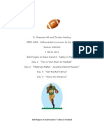Safety in Football