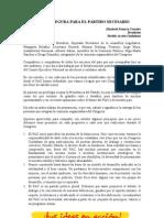 Discurso Elizabeth Fonseca - II Congreso Ciudadano PAC