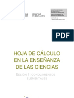 Hojas de Calculo Con Open Office v.3