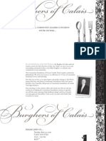 Burghers of Calais Invite