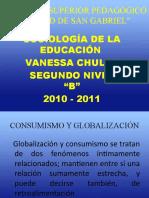 CONSUMISMO Y GLOBALIZACION