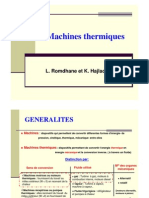 Machines Thermiques