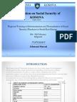 Introduction of KOSOVA Social Security