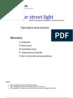 DML America 0661 Solar System Installation Manual 2010