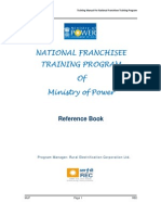 National Franchisee Training's Reading Material-English