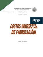 2003 COSTOS INDIRECTOS trabajo