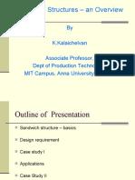 Sandwich Structures - An Overeview 7 Dec, RPT Dept