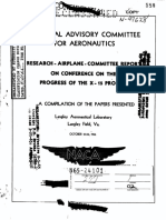 Research Airplane Committee Report on Conference on the Progress of the X-15 Project October 25-26, 1956