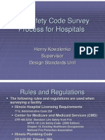 Life Safety Code Survey Process (for Hospitals) Design Standards Unit Rules and Regulations