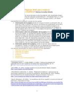 Evaluacion Paginas Web