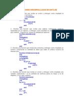 Funciones Desarrolladas en Matlab