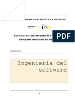 Modulo Ingenieria de Software