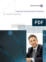 Corporate Communications Solutions for LARGE BROCHURE