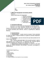 Processo Civil - 05 - 24.08.10 RECURSOS Procuradorias - Matutino - Centro - Eduardo