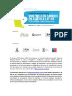 INVITACIÓN - Centro de Estudios en Seguridad Ciudadana