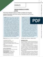 estudio-clinico obesidad en niños argentina 2011