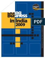 IFC-Doing Business in India 2009