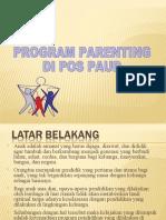 Parenting Di Pos Paud