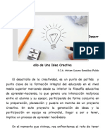 Desarrollo de Una Idea Creativa