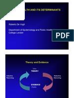 Global Health Determinants