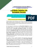 Atividades Satânicas das Sociedades secretas