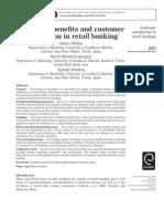 Retial Banking-customer Satisfaction