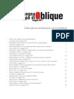 Rassegna stampa Oblique maggio 2011