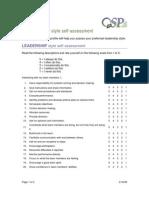 Leadership Style Assessment