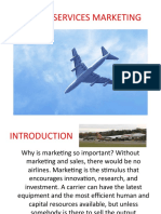 Airline Services Marketing