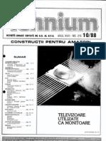 Revista Tehnium 1988-10
