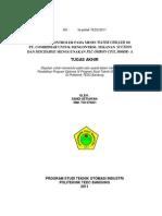 Rekondisi Kontroler Water Chiller PT. Combiphar