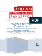 Indonesia Permanent Establishment - A Reference and Information