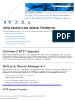 Using Sessions and Session Persistence